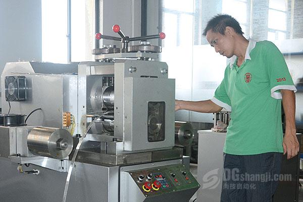 金银首饰设备压片机的工艺与工作原理