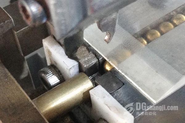自动碰焊机智能识别材料尺寸