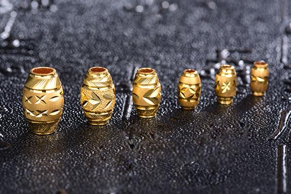 首饰设备加工的橄榄珠