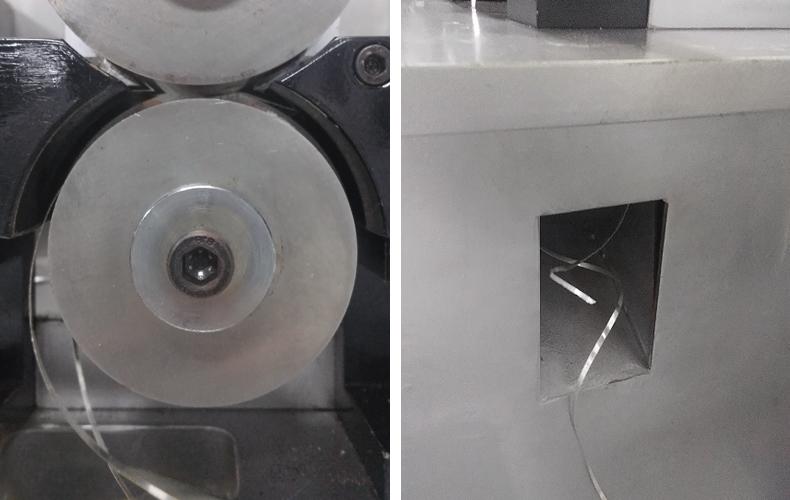 自动焊管机收料